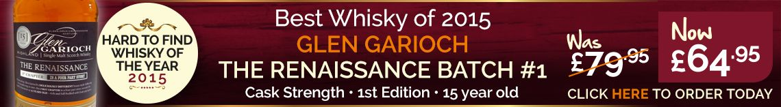 Hard To Find whisky of the Year 2015