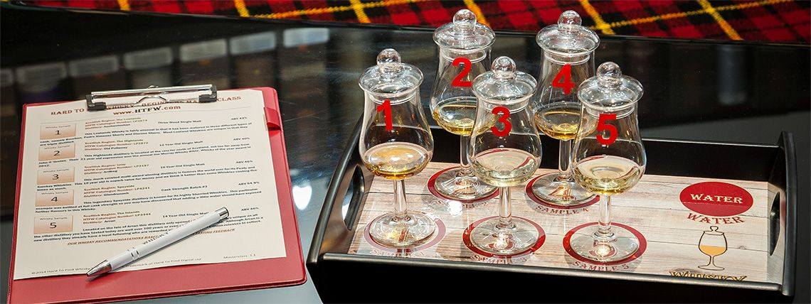 Hard To Find Whisky - Whiskey Masterclass