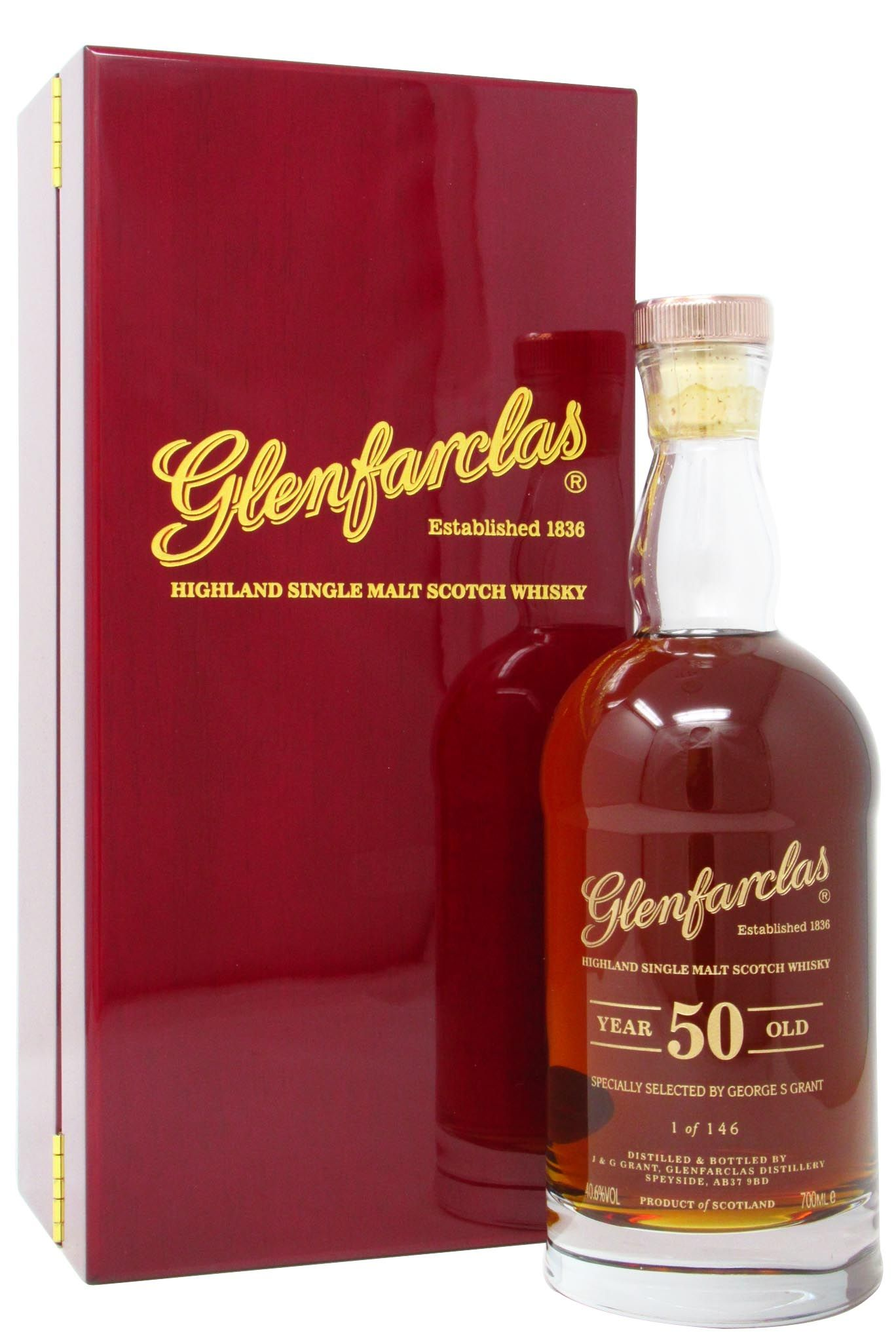 50 Year Old Whiskey >> Details About Glenfarclas Single Highland Malt 50 Year Old Whisky