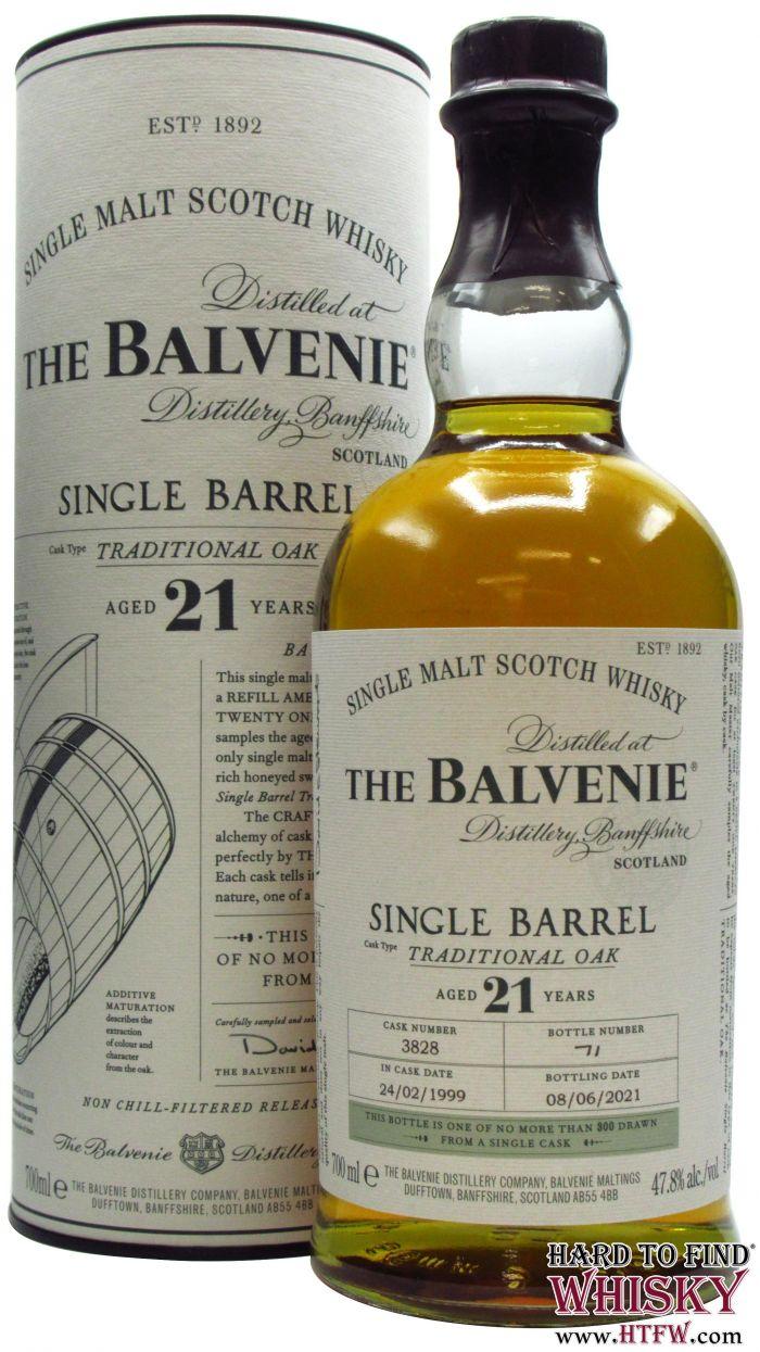 balvenie 21 single barrel