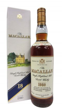 Macallan - Single Highland Malt - 1980 18 year old Whisky