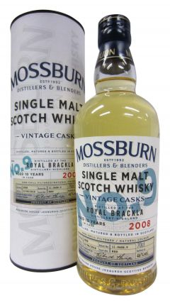 Royal Brackla - Mossburn Vintage Casks No.9 - 2008 10 year old Whisky