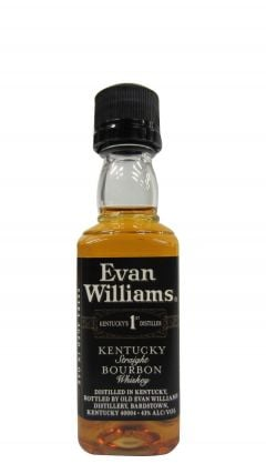 Evan Williams - Kentucky Straight Bourbon Miniature Whiskey
