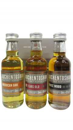 Auchentoshan - Collection 3 x 5cl Miniature Gift Set Whisky