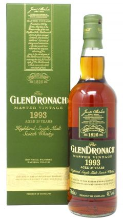 Glendronach - Master Vintage - 1993 25 year old Whisky