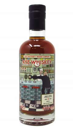 James E Pepper - That Boutique-Y Rye Company Batch #1 3 year old Whiskey