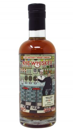 James E Pepper - That Boutique-Y Rye Company Batch #3 4 year old Whiskey