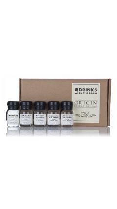 Drinks By The Dram - Origin Single Estate Gin Tasting Set Gin