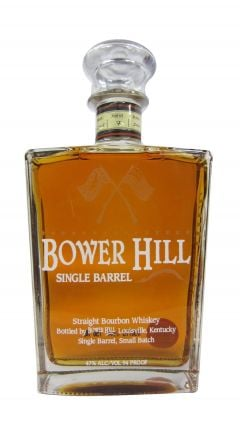 Bower Hill - Single Barrel Small Batch Bouron Whiskey