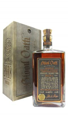Blood Oath - Bourbon - Pact #4 Whiskey