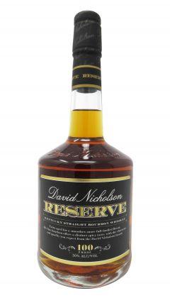 David Nicholson - Reserve Whiskey