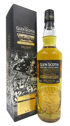 Glen Scotia - Campbeltown Malts Festival 2019  - 2003 15 year old Whisky