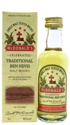 Ben Nevis - MacDonald's Traditional Malt Miniature 10 year old Whisky