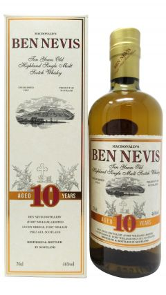 Ben Nevis - Highland Single Malt 10 year old Whisky