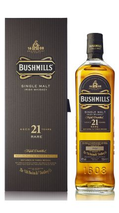 Bushmills - Single Malt Irish 21 year old Whiskey