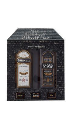 Bushmills - Black Bush & Glasses Gift Set Whiskey