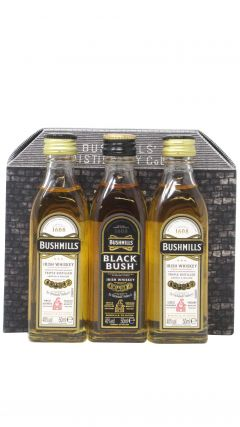 Bushmills - 3 x 5cl Miniature Gift Set Whiskey
