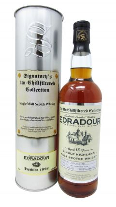 Edradour - Signatory's Un-Chillfiltered Collection - 1992 10 year old Whisky