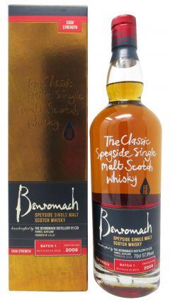 Benromach - Cask Strength Batch 1 - 2008 Whisky