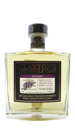 Longmorn - Claxton's Single Cask - 2008 10 year old Whisky