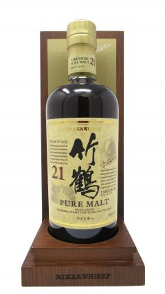 Nikka Taketsuru - Pure Malt in Wooden Box 21 year old Whisky