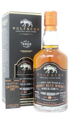 Wolfburn - Single Sherry Cask #87 Whisky