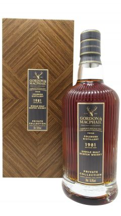 Coleburn (silent) - Private Collection Single Cask #476 - 1981 38 year old Whisky