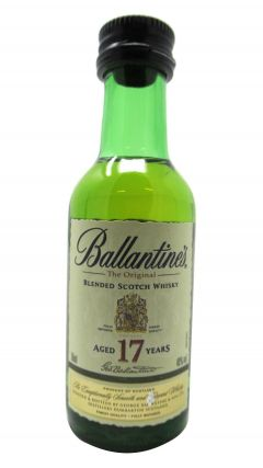 Ballantines - Blended Scotch Miniature 17 year old Whisky