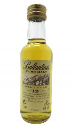 Ballantines - Blended Scotch Miniature 12 year old Whisky