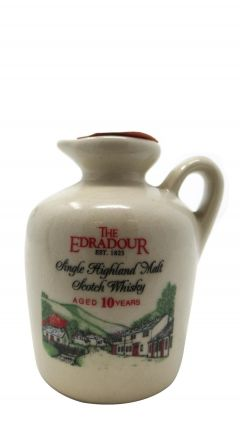 Edradour - Ceramic Miniature 10 year old Whisky