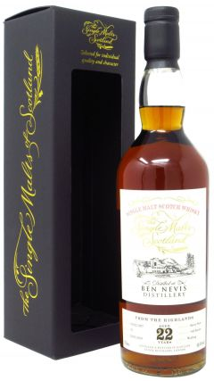 Ben Nevis - Single Malts of Scotland Single Cask #91 - 1997 22 year old Whisky