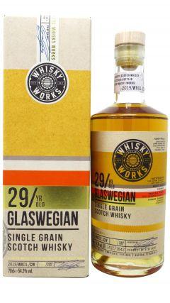 Port Dundas (silent) - Whisky Works  -  Glaswegian (Single Grain) 29 year old Whisky