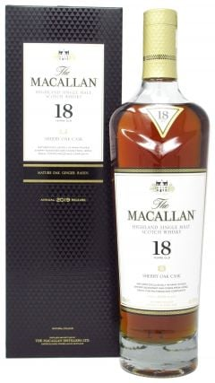 Macallan - Sherry Oak Highland Single Malt 2019 Edition 18 year old Whisky