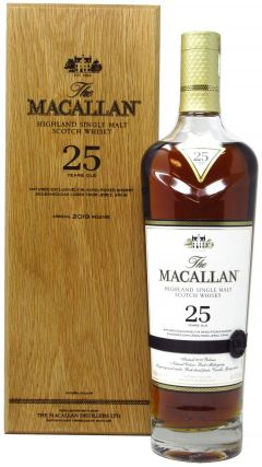 Macallan - Sherry Oak 2019 Release 25 year old Whisky