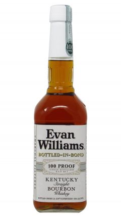 Evan Williams - Bottled In Bond 100 Proof 4 year old Whiskey