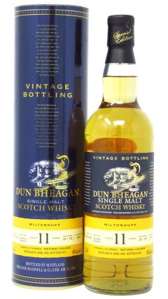 Miltonduff - Dun Bheagan Single Malt - 2008 11 year old Whisky