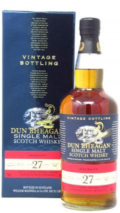 Macduff - Dun Bheagan Single Cask #4584 - 1991 27 year old Whisky