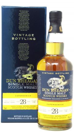 Caperdonich (silent) - Dun Bheagan Single Cask #17945 - 1991 28 year old Whisky