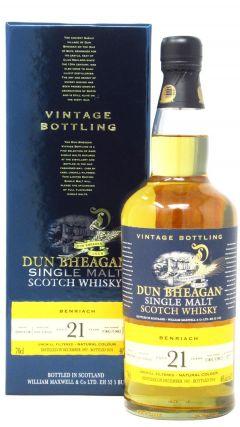 BenRiach - Dun Bheagan Single Malt - 1997 21 year old Whisky