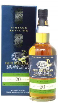 Laphroaig - Dun Bheagan Single Malt - 1998 20 year old Whisky