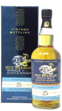 Auchentoshan - Dun Bheagan Single Cask #3868 - 1993 25 year old Whisky