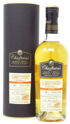 Strathisla - Chieftain's Single Malt - 2008 10 year old Whisky
