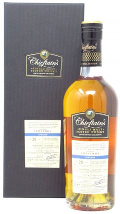Littlemill (silent) - Chieftain's Single Cask #103514 - 1990 28 year old Whisky