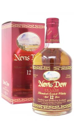 Ben Nevis - Nevis Dew Deluxe Blended Scotch 12 year old Whisky