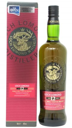 Loch Lomond - Single Malt Scotch 12 year old Whisky