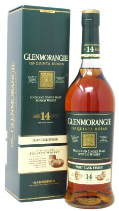 Glenmorangie - The Quinta Ruban 14 year old Whisky