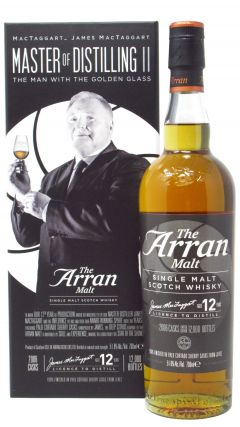 Arran - James MacTaggart Master of Distilling II 12 year old Whisky