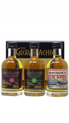 GlenAllachie - The Glenallachie Collection 3 x 5cl Miniatures Gift Set Whisky