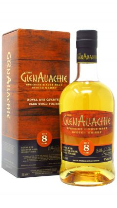 GlenAllachie - Koval Rye Quarter Cask Wood Finish 8 year old Whisky