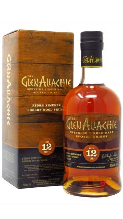 GlenAllachie - Pedro Ximenez Sherry Wood Finish  12 year old Whisky